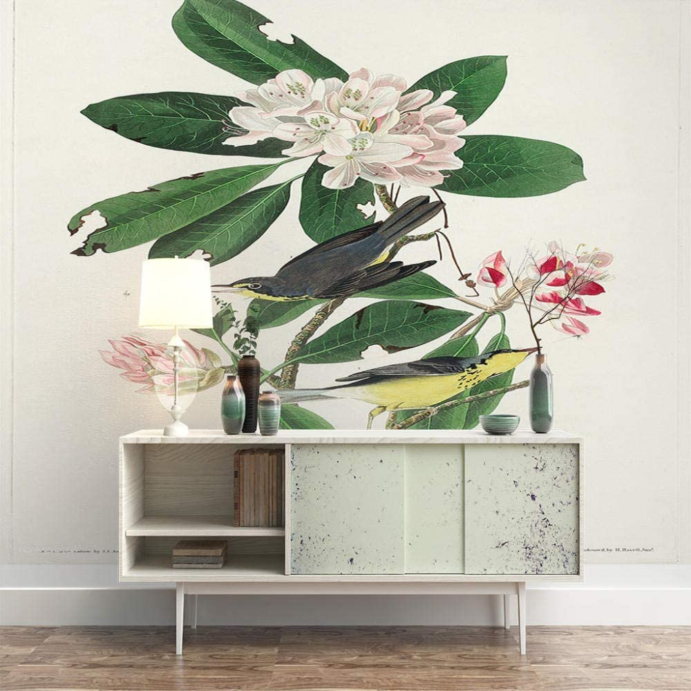 ZXDHNS Photo Wallpaper Wall Mural Ultra-Cheap Deals - Bird W Floral X Limited Special Price Beautiful H