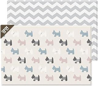 Parklon Pure Soft Playroom Little Terrier Design Double-sided mat両面デザイン赤ちゃんプレイマット(海外直送品) (210x140x1.5cm)