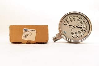 WIKA 233.54 9832705 Pressure Gauge 0-2000PSI 4IN 1/2IN NPT