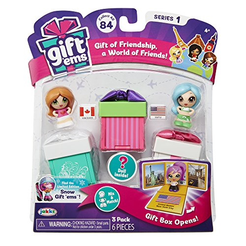 Gift 'Ems Transforming Gift Boxes (3 Pack) Assorted