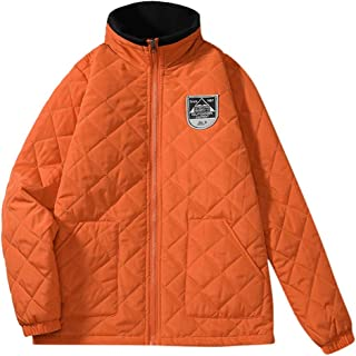 IZHH Mens Warm Outwear Winter Jacket Coats Zipped Tracksuit Down Sherpa Outwear