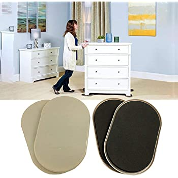 Amazon Com Boddenly 4pcs Reusable Heavy Furniture Sliders For Carpet Quickly And Easily Move Any Item Furniture Moving Pads Carpet Sliders Ideal For Moving Large Furniture Sofa Bed Desk Chair Etc Health