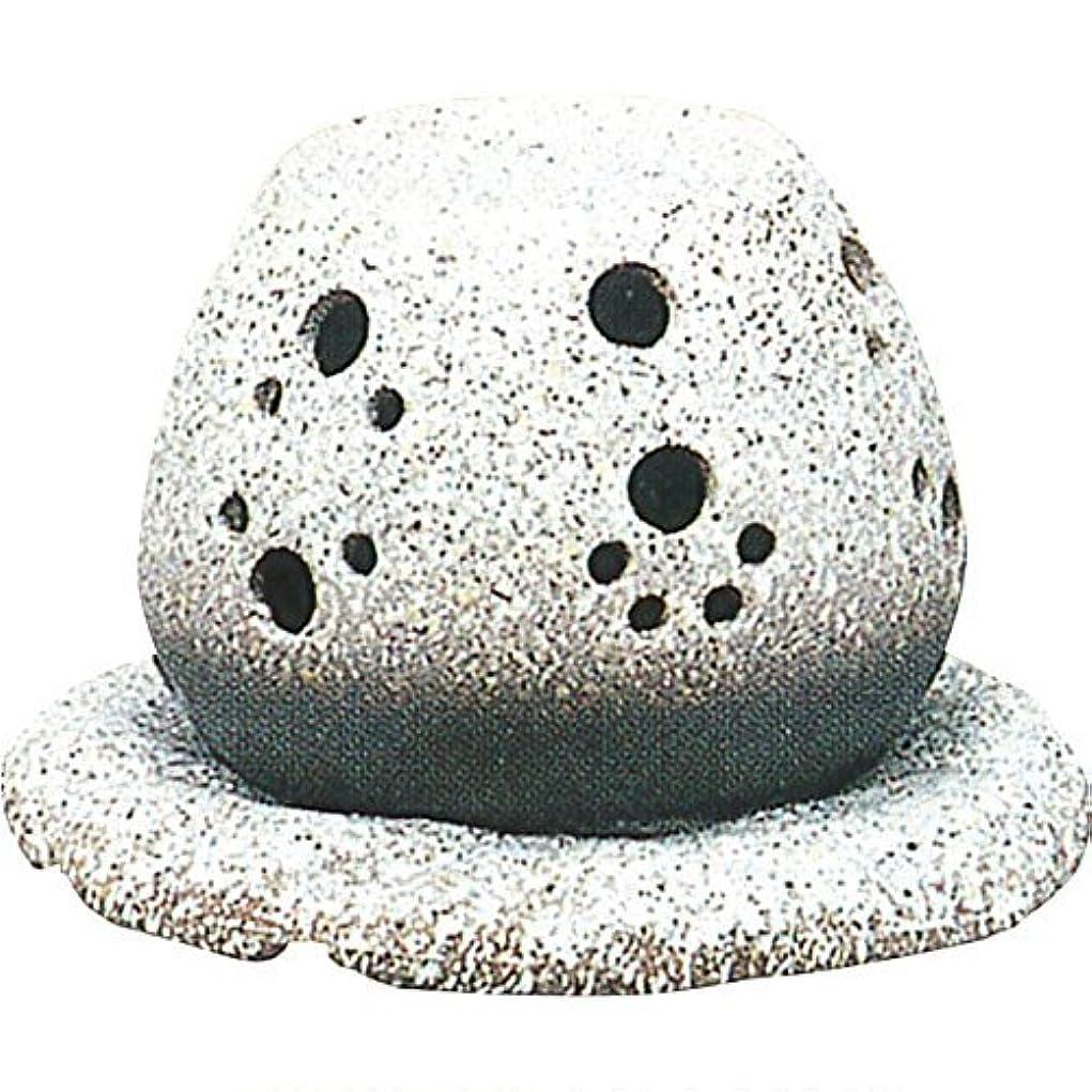 証拠解明郵便屋さん常滑焼?山房 カ40-05 茶香炉 約14.5×15.5×10cm