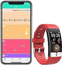 Fitness Armband EKG PPG Blutdruck Monitor Fitness Tracker Herzfrequenz Wasserdicht IP67..