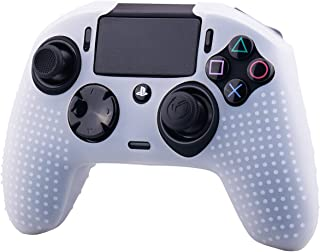 YoRHa Studded Dots Silicone Rubber Gel Customizing Cover for NACON Revolution PRO PS4 controller [Origin & V2] x 1(Clear)