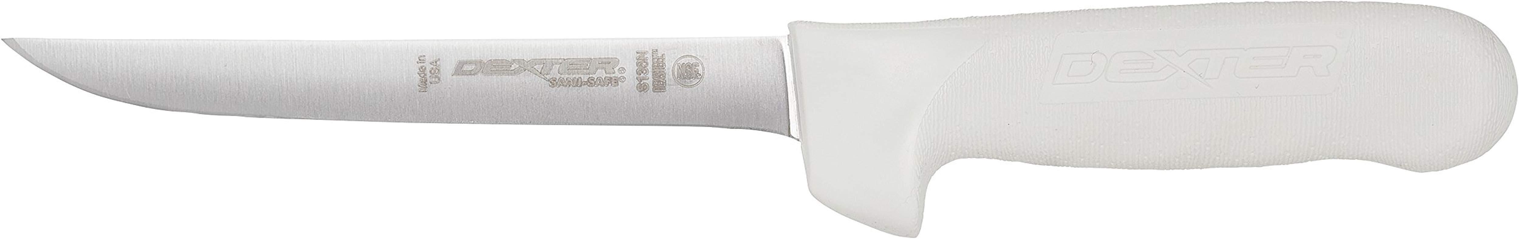 Dexter Russell Sani Safe Narrow Boning Knife Carbon Steel Blade 6 Inch