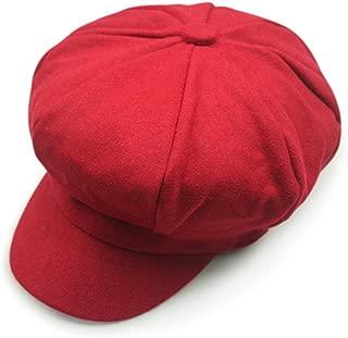 Wool Newsboy Hat Beret Cap Ivy Hats for Women and Men