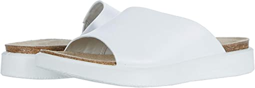 Bright White Cow Leather