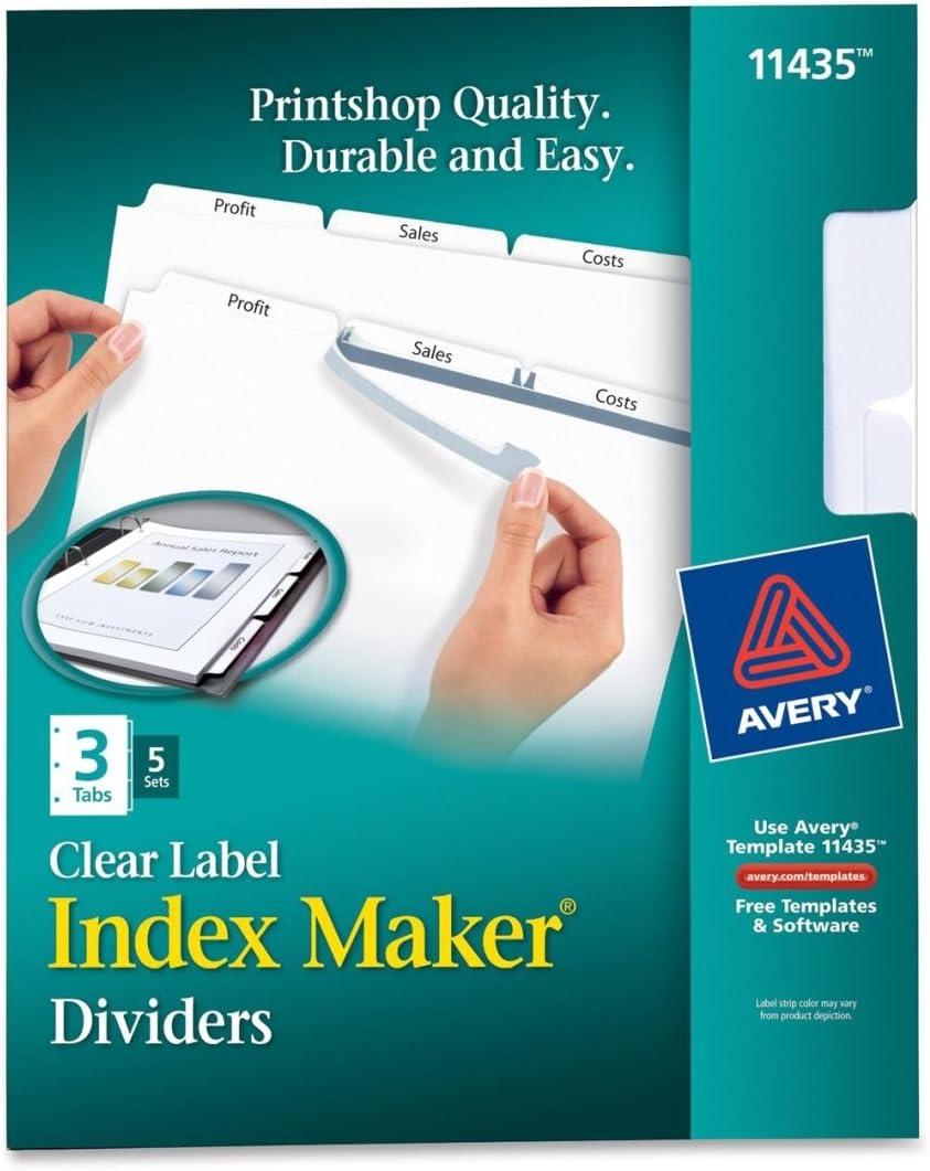 AVELSK3 - Index White Award-winning store Dividers Maker Atlanta Mall