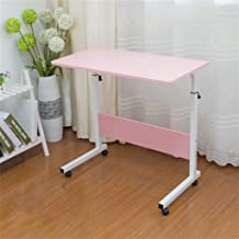 Cqq Folding Table Computer Desk it can Move Simple Lift Laptop Table Bed Desk Land use Mobile Lazy Table Bedside Computer ...