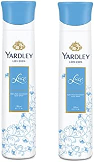 Yardley London Lace Deodorant For Women - 150ml - Pack of 2