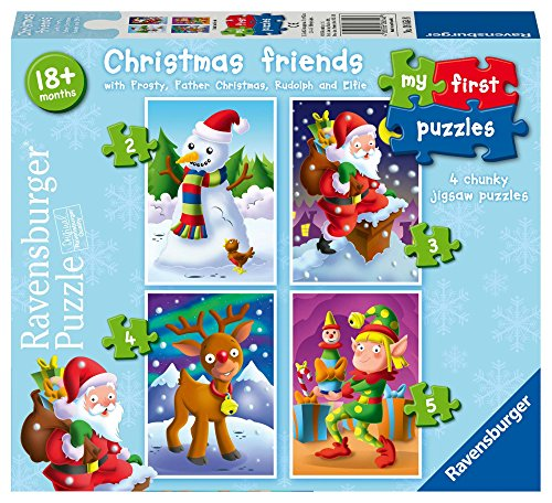 Ravensburger Christmas Friends, My First Jigsaw Puzzles (2,