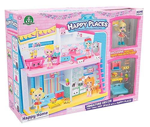 Shopkins Places, Happy Home Plus 1 muñeca con 9 Accesorios (Giochi Preziosi HPH00001)