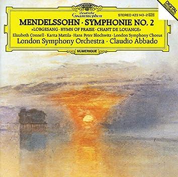"Mendelssohn: Symphony No.2 ""Lobgesang"""