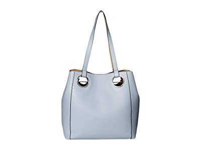 Vince Camuto Kimi Tote (Cozy Blue) Tote Handbags
