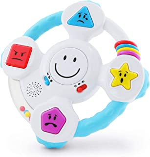BEST LEARNING My Spin & Learn Steering Wheel - Interactive Educational Toys for 6 to 36 Months Old Infants, Babies, Toddle...