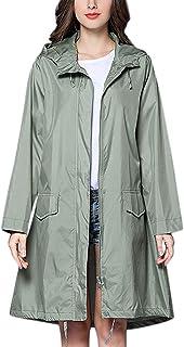 Abrigo De Mujer Chaqueta De Lluvia Poncho Al Aire Libre Montar A Prueba De Viento Abrigo A Prueba De Viento Día Lluvioso D...