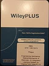 WileyPLUS for Engineering Mechanics: Statics/Mechanics of Materials (Virginia Tech Custom Access Code)