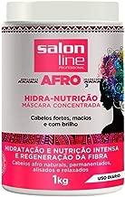Linha Tratamento (Afro) Salon Line - Mascara Concentrada Hidra Nutricao 1000 Gr - (Salon Line Treatment (Afro) Collection - Hydra Nourishing Concentrated Mask Net 35.27 Oz)