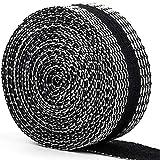 裾上げテープ 強力すそ上げテープ 布 接着剤 超ロングタイプ アイロン接着テープ 10m巻 23mm幅 黒 裾直しテープ すそ上げテープ ズボン裾直し 接着 アイロン