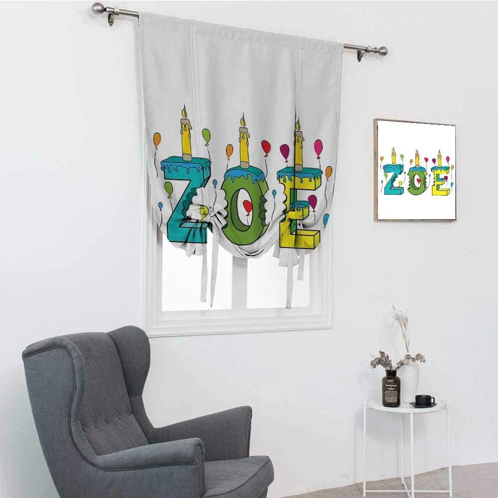 値下げ Zoe Kitchen Window Curtains Colorful T 超人気 Social Festive Gathering