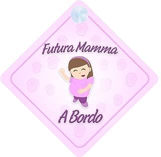 famiglia adesivo bimbo // bambina // neonato a bordo per femmina adesivo macchina Principessina Alice bambini bimbi Crown//Corona