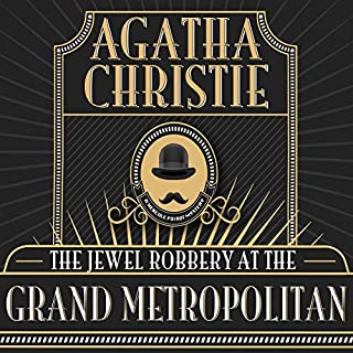The Jewel Robbery at the Grand Metropolitan audiobook cover art