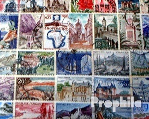 Prophila Collection Frankreich 50 Verschiedene Sondermarken und Großformate (Briefmarken für Sammler)