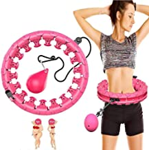 ZRBD-ds Efficiënt gewichtsverlies met 360 graden massage,auto-draaiende hoepel,slim tellen hoola lus for mannen en vrouwen...