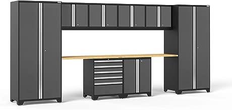 NewAge Products Pro 3.0 Gray 10 Piece Set, Garage Cabinets, 52050