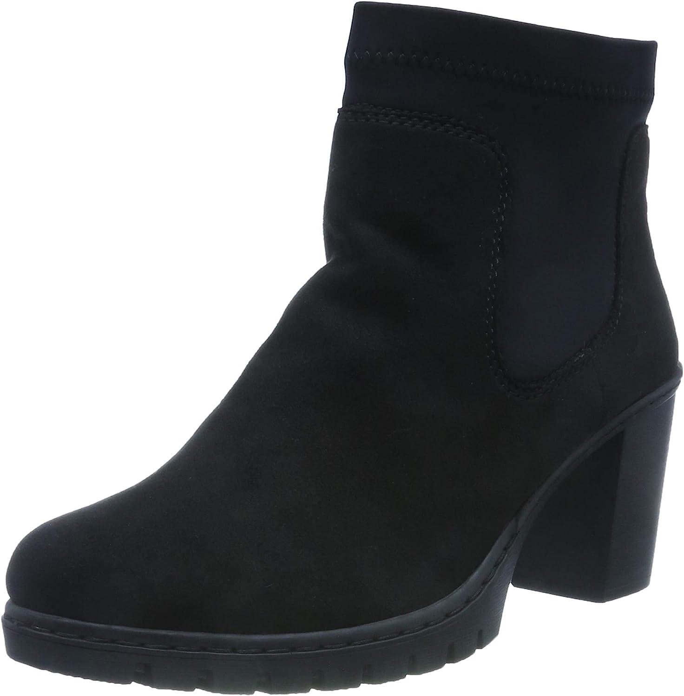 Rieker Women Ankle Boots Black, (SCHWA SCHW) Y2550-00