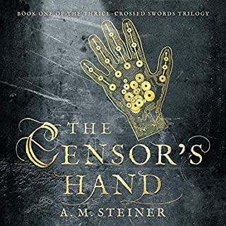 The Censor's Hand audiobook cover art