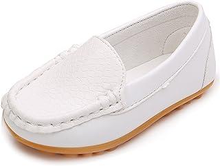 لنسن بچه گانه کوچک بچه پسران دختران لغزش بر روی Loafers لباس کفش تخت