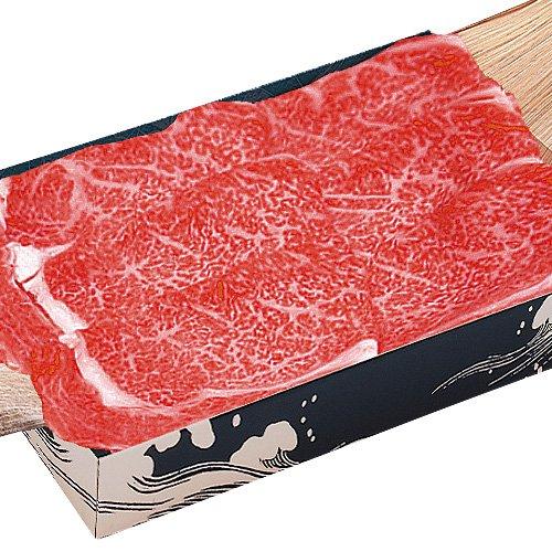 米沢牛登起波 米沢牛 リブロース極上(芯)しゃぶしゃぶ用430g (ポン酢付)【化粧箱入り】