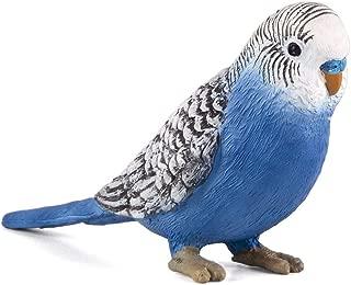 MOJO Blue Budgerigar (Australian Parakeet) Realistic International Wildlife Toy Replica Hand Painted Figurine