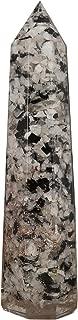 CRAFTSTRIBE Rainbow Moonstone Gemstone Orgone Obelisk Tower Spiritual Reiki Healing