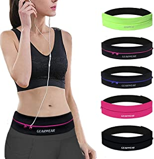 GEARWEAR Waistband Running Belt for Phone Holder Runner...