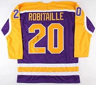Luc Robitaille Autographed Signed Kings Jersey Beckett Coa 668 Nhl Goals /2002 Stanley Cup - Certified Signature