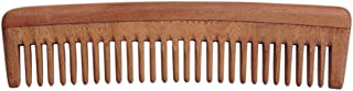 HealthGoodsIn - Pure Neem Wood Wide Tooth Comb for Shiny Hair | Wide Tooth Comb | Natural and Organic for Hair and Scalp Health