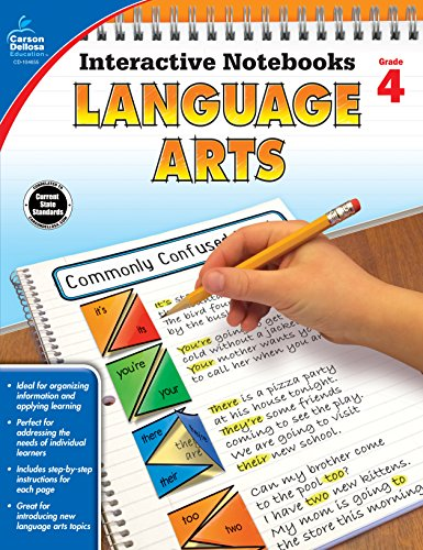 Language Arts, Grade 4 (Interactive Notebooks)