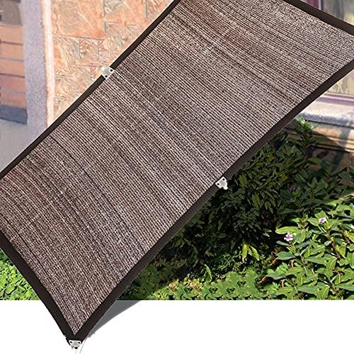 YJSMB Toldo Sombra, Malla Sombra Anti-UV Ligero Cortavientos con Clips para Invernadero, Patio De Plantas Huerta (Size : 3x7m/9.8x23ft)
