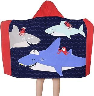 Serviette de Bain 80 X 160 cm Bleu Coton Grande Coverture de Plage Piscine Douce Absorbante pour Enfant /& Adulte deau Voyage Vacances Plage Cadeau Baogaier Serviette de Plage Baleine Rose