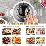 Zoom IMG-2 yissvic tritatutto da cucina elettrico