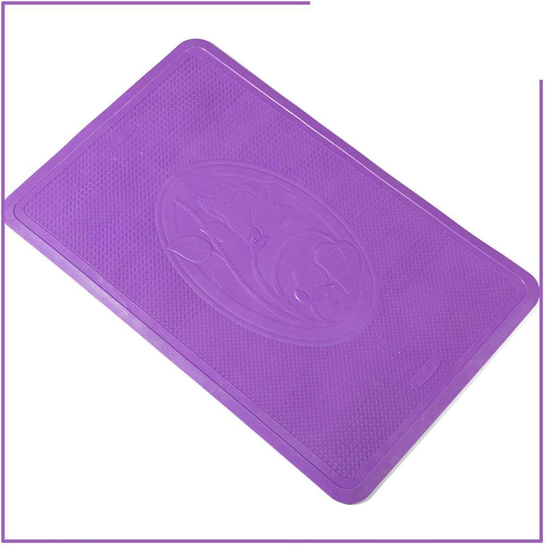 HUAIX Home King Solid Farbe Badezimmermatte Chuck Bath bar pad Badezimmer Duschmatten B07PDP3G62