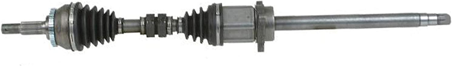 Detroit Axle - Front Driver Side CV Drive Axle Drive Shafts USA Made for 2005 2006 2007 2008 2009 Hyundai Tucson 2.7L Models