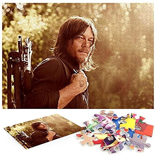 The Walking Dead Saison 9 Puzzle 1000 PièCes Adultes Tableau 1000 Livres pour RéSoudre des éNigmes pour Les Enfants De Plus De 8 Ans