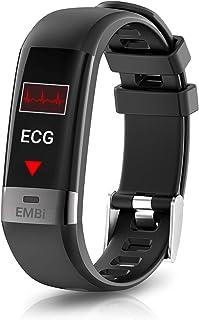 August Puls- och blodtrycksmätare – Audar EMBi – smart armband EMBi – IP67 vattentätt smart armband armband puls sömnmonit...