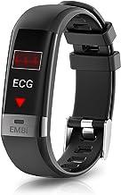 August Hartslag- en bloeddrukmeter - Audar EMBi - slimme polsband EMBi - IP67 Waterdichte Smart Armband Polsband Hartslag ...