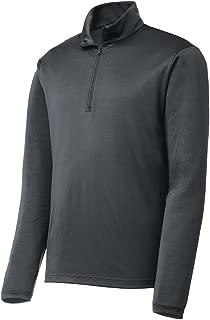 Mens Lightweight Moisture Wicking 1/4-Zip Pullover Sizes XS-4XL