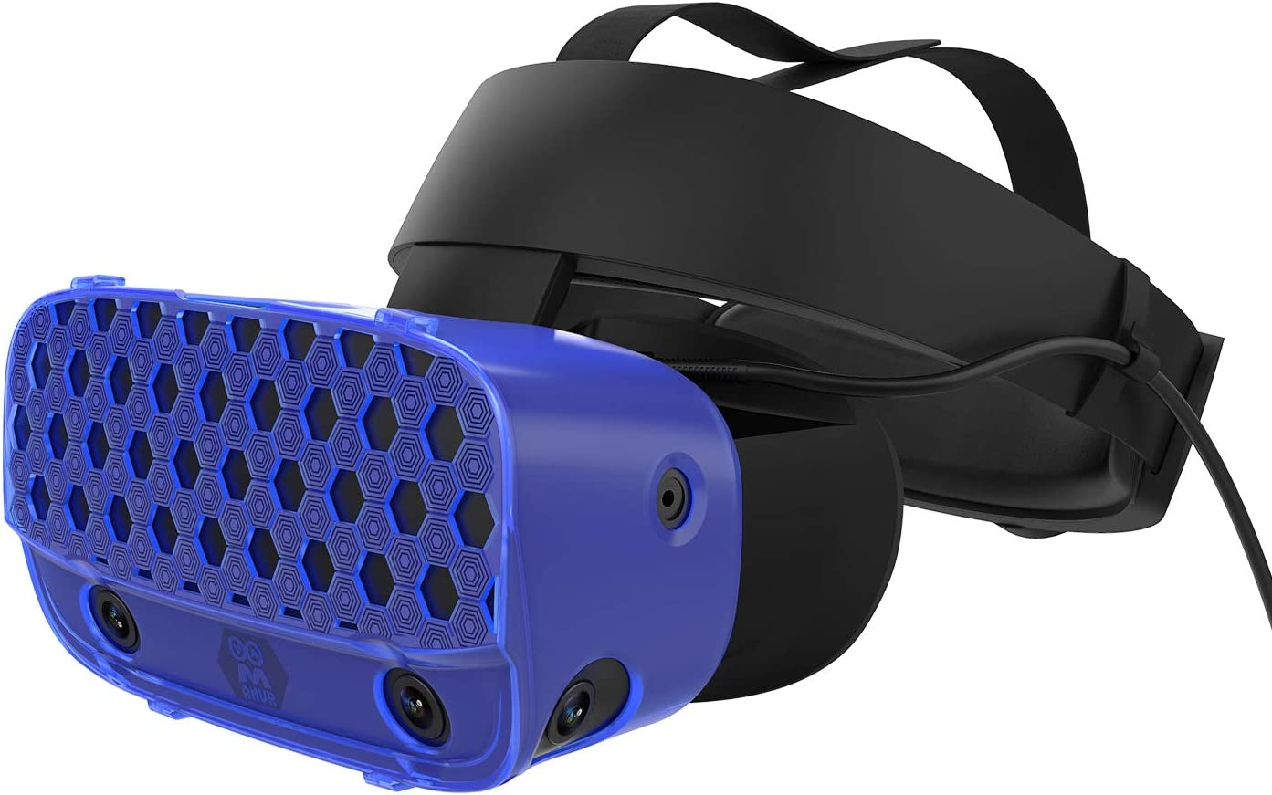 AMVR VR Headset Protective Shell, Light & Durable Cover for Oculus Rift S Accessories, Preventing Collisions and Scratches (Blue)